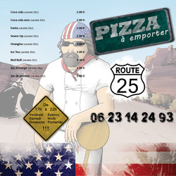Flyer camion pizza recto