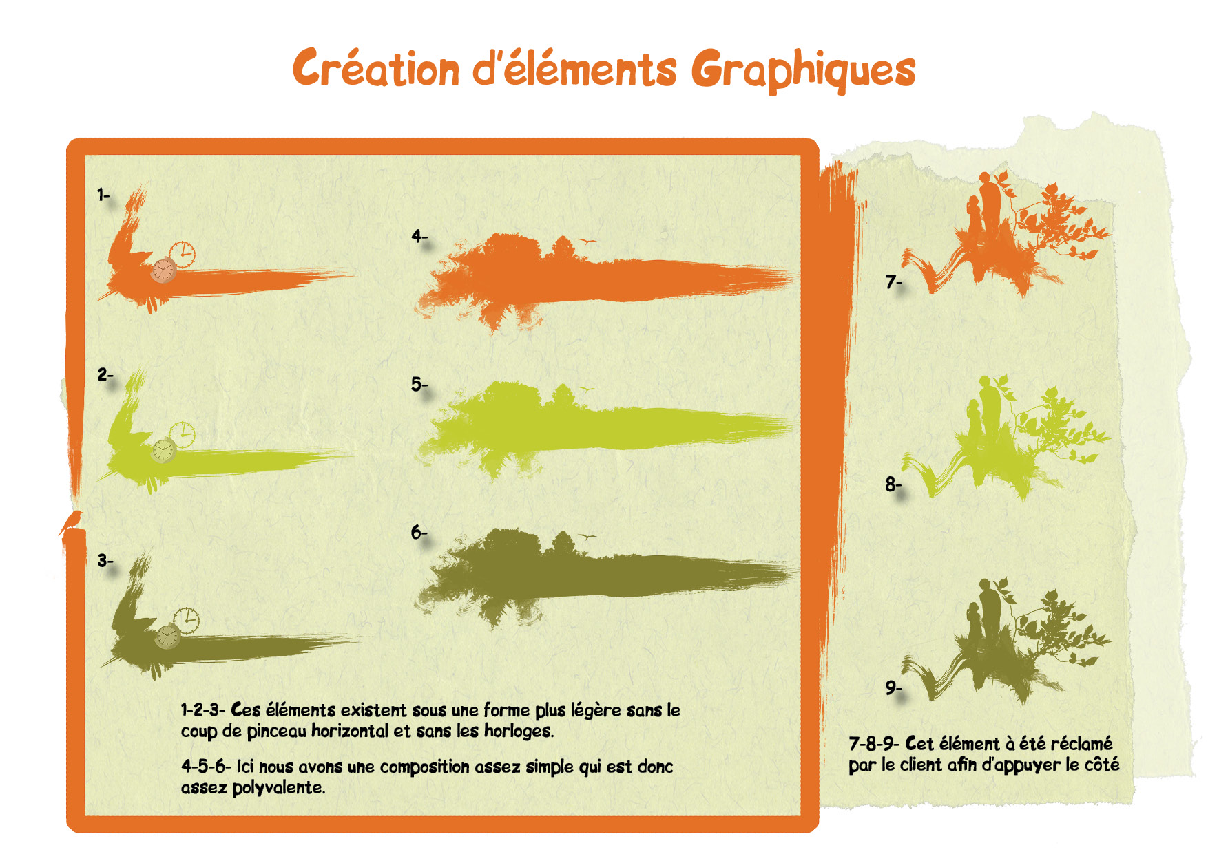 Creation éléments graphiques 3