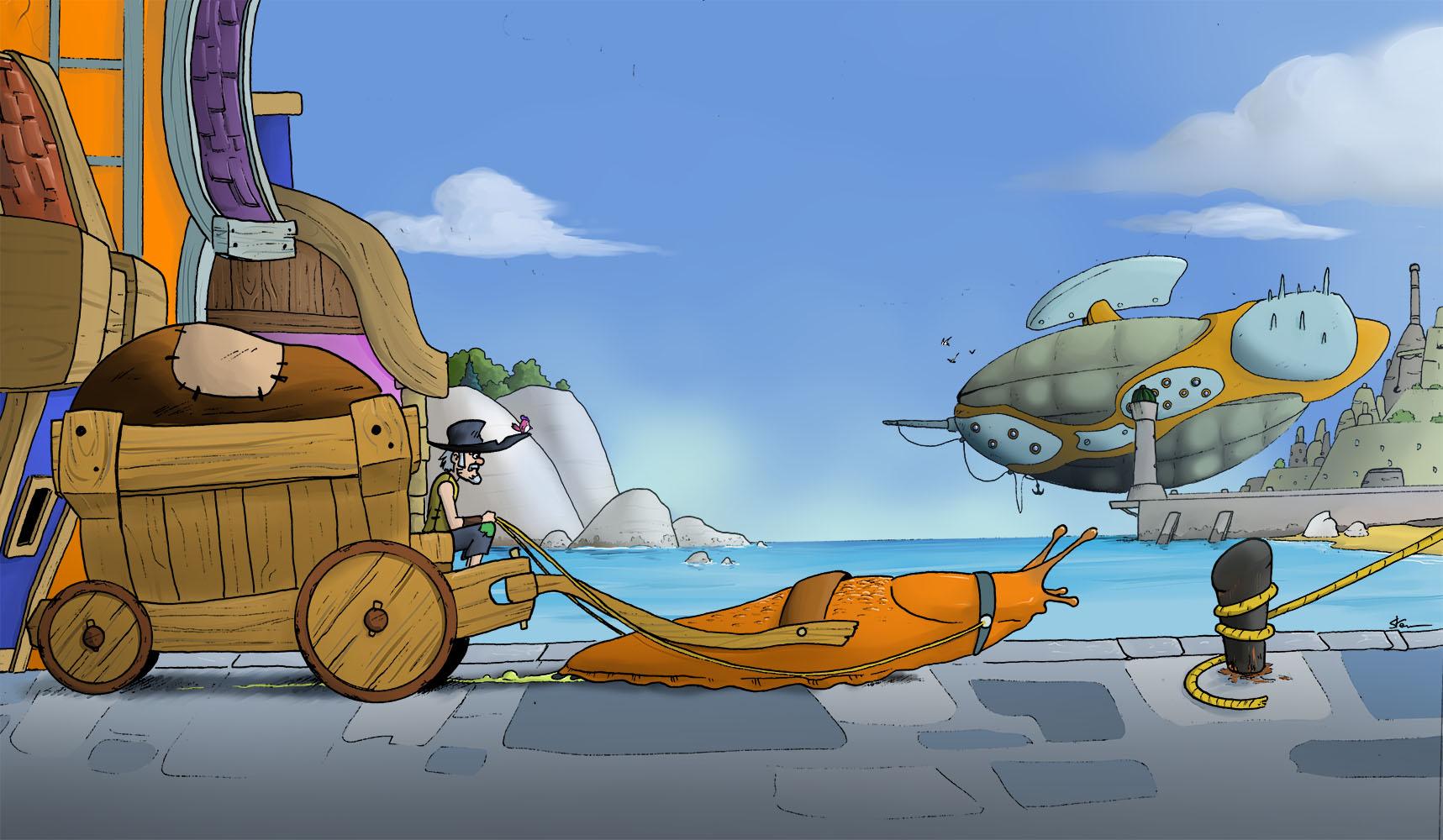 Le transport de l'avenir !!