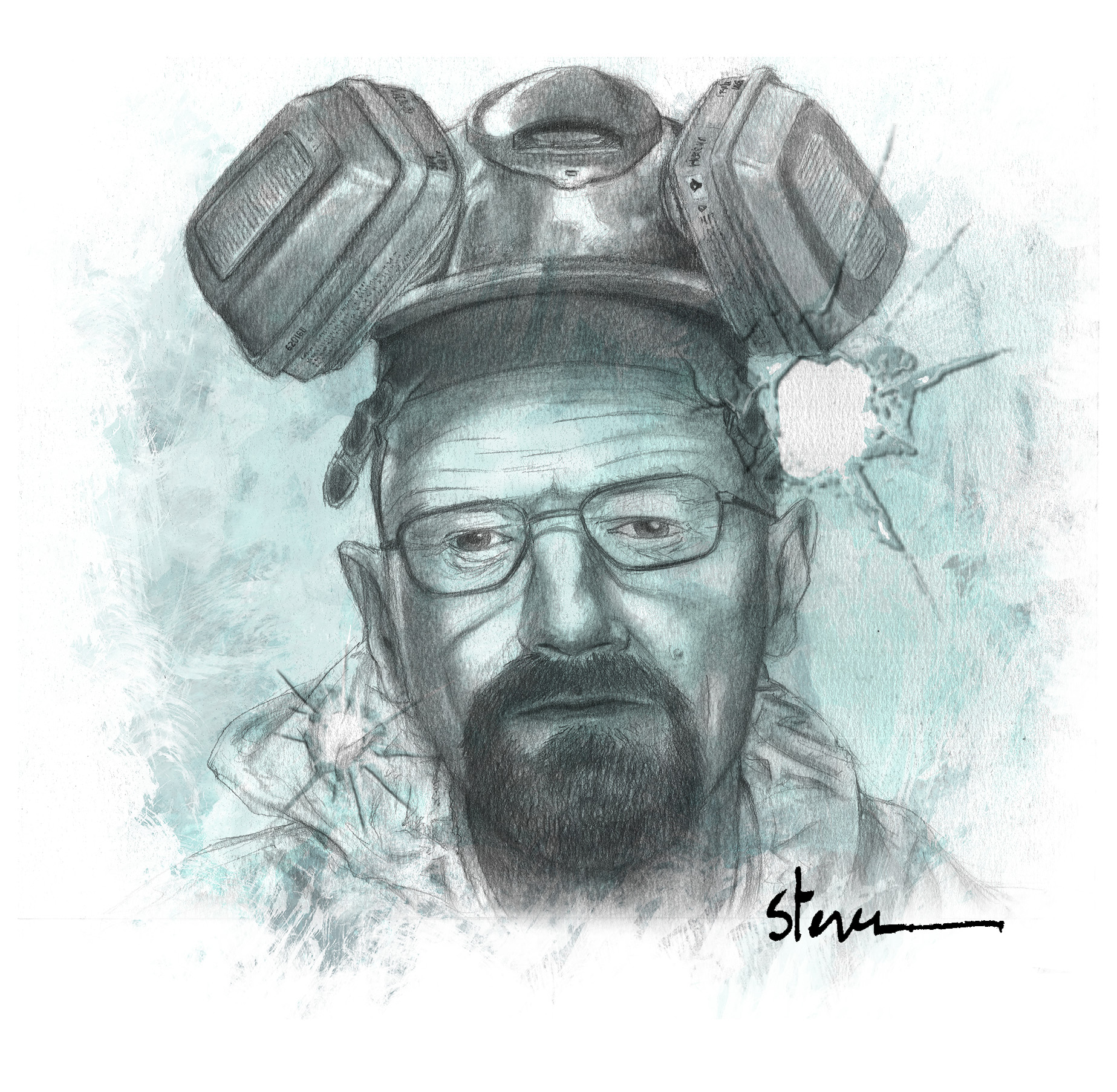 Portrait walter white