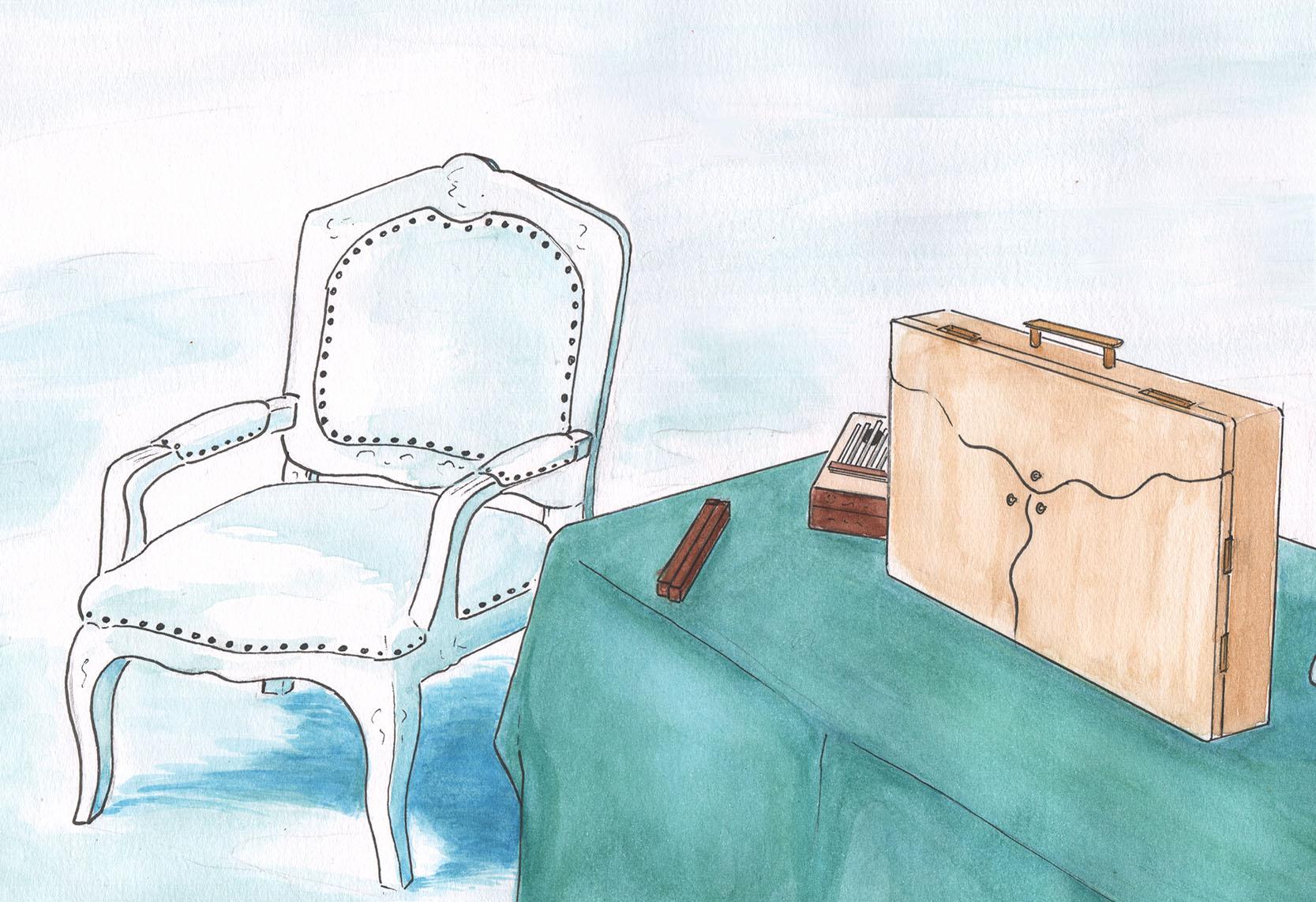 illustration butaï hiver