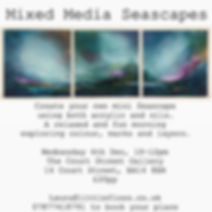 Mini Seascapes - booking is essential!.j
