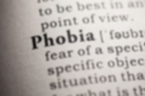 Phobia in a dictionary