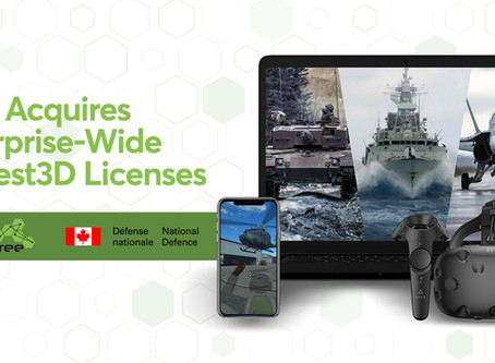 DND Acquires Enterprise-Wide Modest3D Licenses to Support Development of Remote Immersive Training