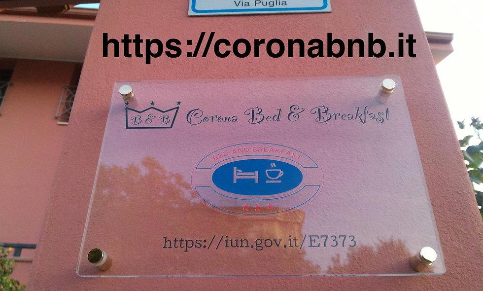 Corona b&b
