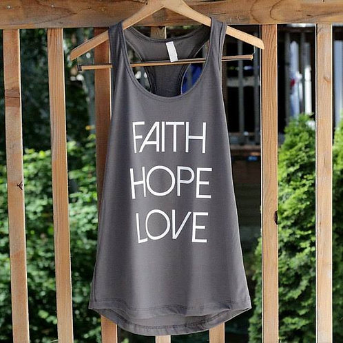 Faith, Hope, Love Tank