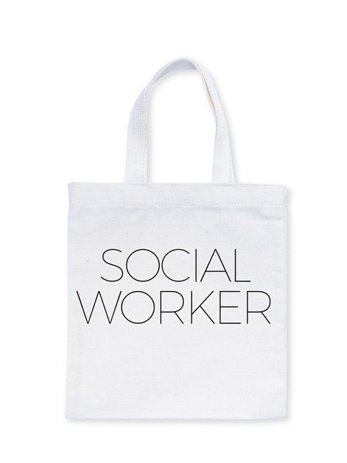 Social Worker (New) Tote