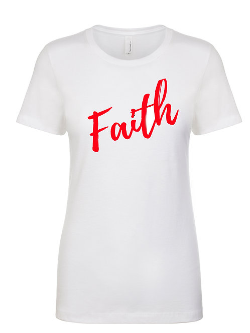 Faith Womens Tshirt