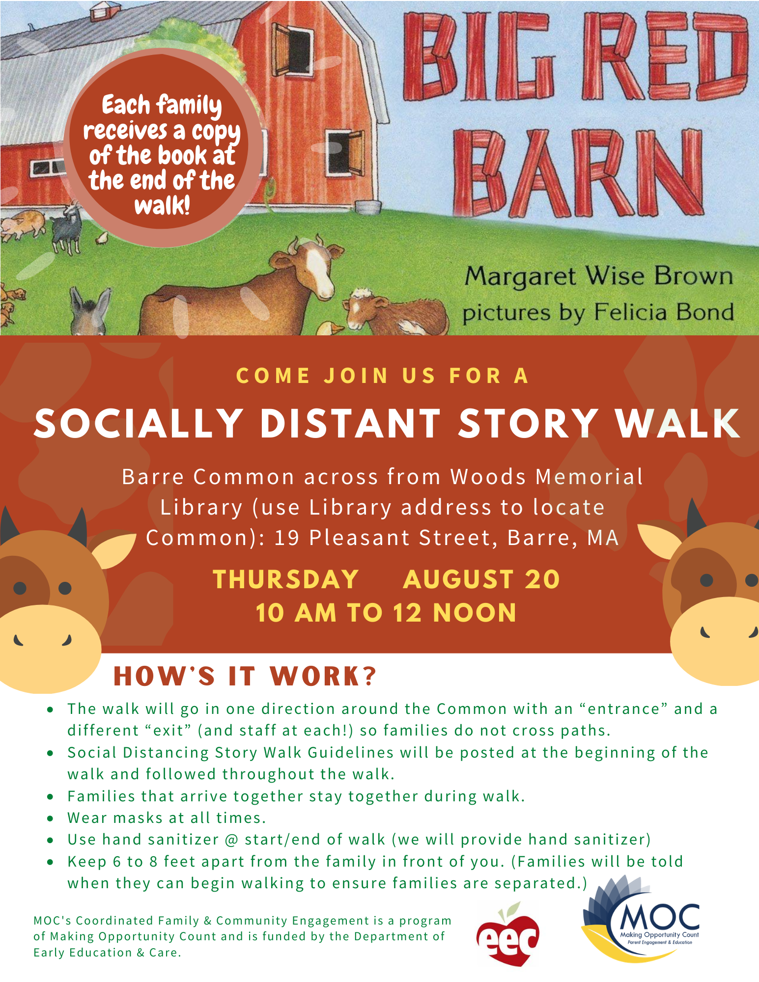 CFCE Big Barn Storywalk - 2020-08-20