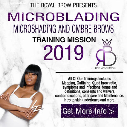 Microblading Training | United States | The Royal Brow