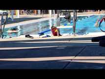 How long could someone float in your pool without your guards noticing?
