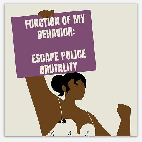 Function of My Behavior - Sticker
