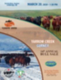 Yarrow Creek Gurney Bull Sale 2020 Final