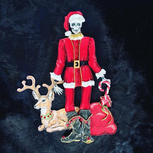 Happy Bones Santa Claus