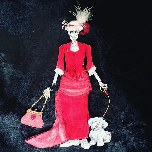 Miss Cordelia's Velvet Dress