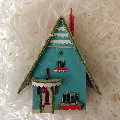 Blue Winter House