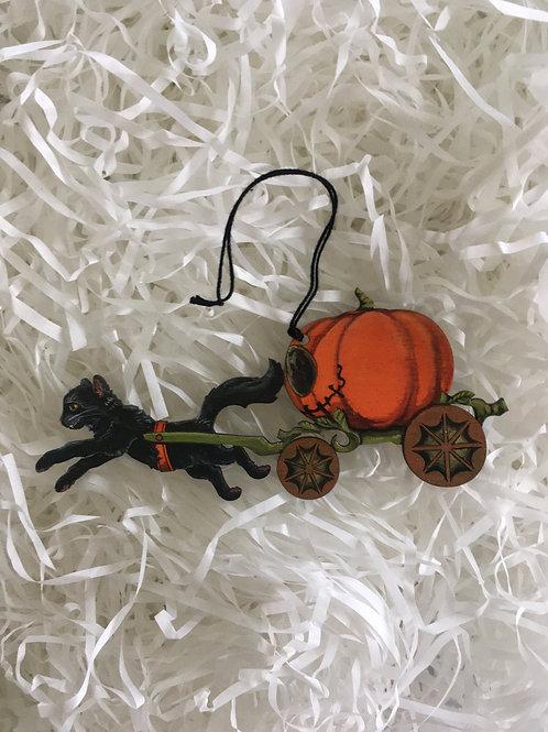 Cat O'Lantern Carriage