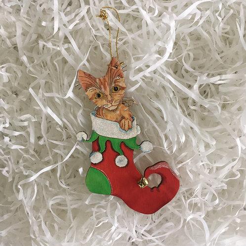 Stocking Kitten