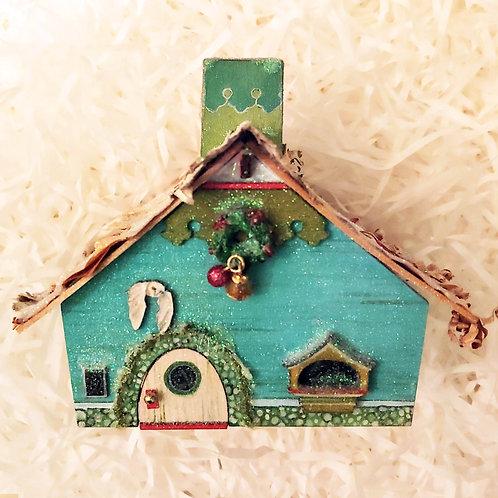 Snowy Owl Winter House