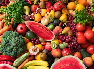 Frutas y verduras que mejoran tu salud mental