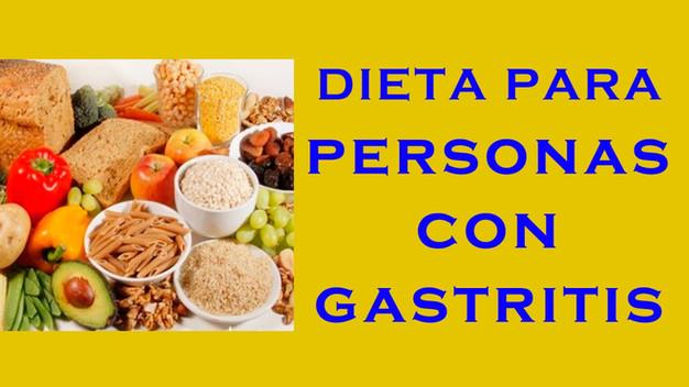 gastritis helicobacter pylori dieta recomendadas