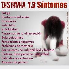 Depresión y distimia en adolescentes y niños