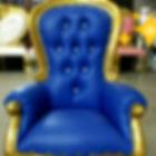 Gold and Blue mini throne chair.jpg