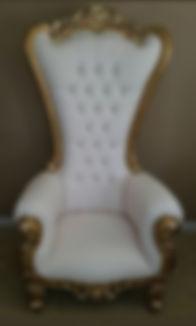 Tiffany white and god trone chair.jpg