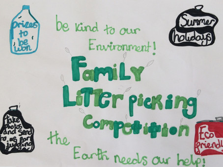 Family Litter Picking Competition