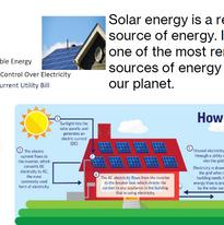 Eco-Project - Energy, Solar Energy Flyer