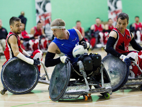 A Truly Inspirational Visit From Paralympian Aaron Phipps