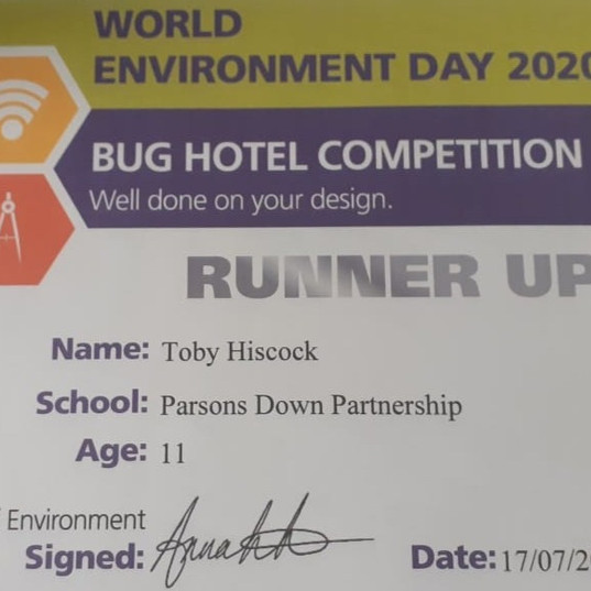 AWE Bug Hotel Competition Runner Up