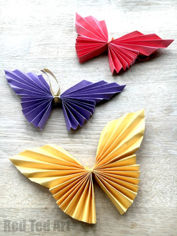 Paper Butterfly Origami