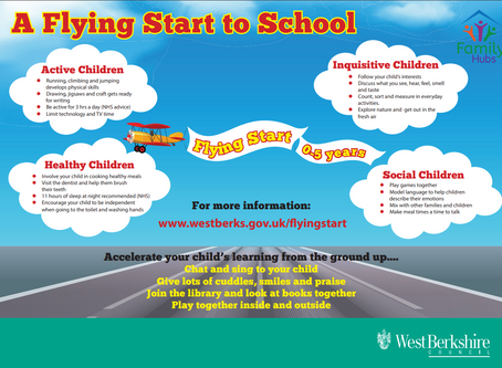 Helping Your Child To Have A Flying Start