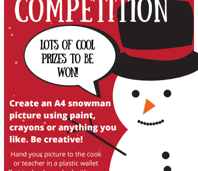 Enter The Dolce Snowman Competition