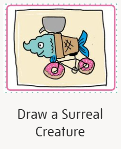 Draw a Surreal Creature