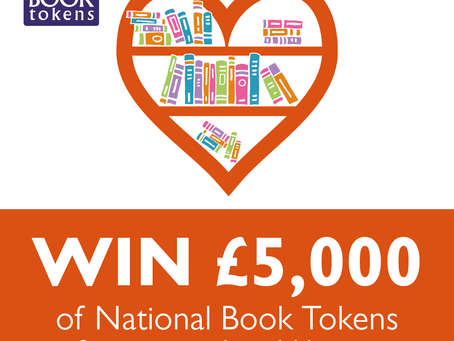Win £5000 In Book Tokens For PDP (And £100 of Book Tokens For Yourself)!