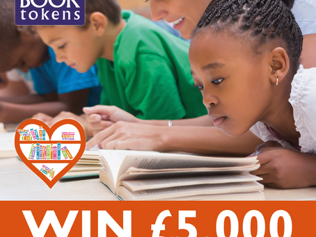 Win £5,000 For Our School Library!