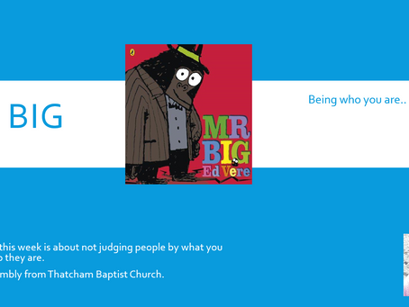 Thatcham Baptist Church Assembly - Don't Judge A Book By It's Cover