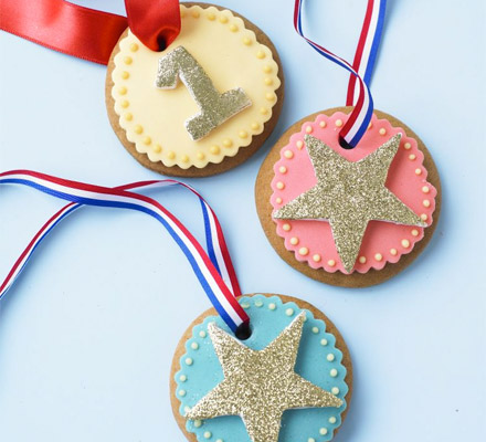 Medal Cookies - Father's Day