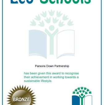 Eco Schools Bronze Award!