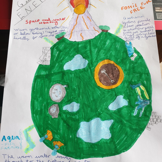 Eco-Project - Geothermal Energy Flyer
