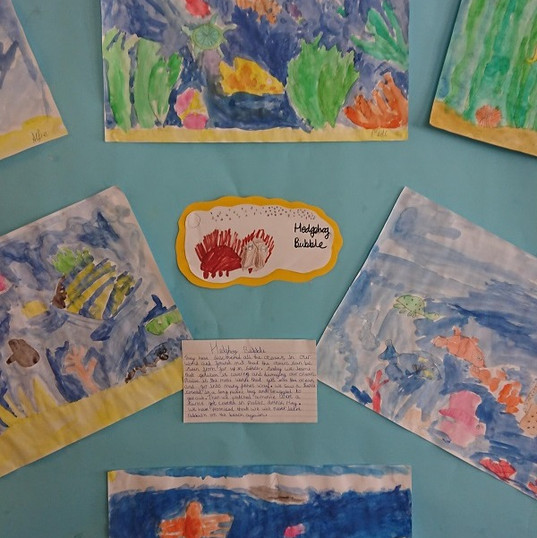 Save The Oceans Display Board