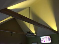 beams and indirect lighting