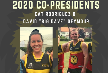 Cat Rodriguez & David Seymour Announced as 2020 Co-Presidents