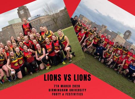 Lions v Lions