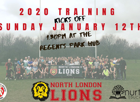 2020 Training Kicks Off January 12