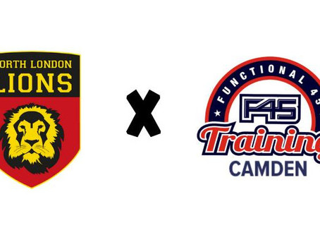 Lions Join Forces With F45 Camden