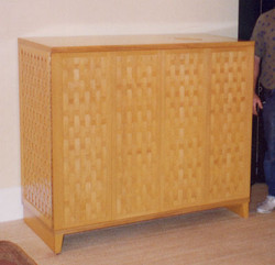 Basket Weave Cabinet