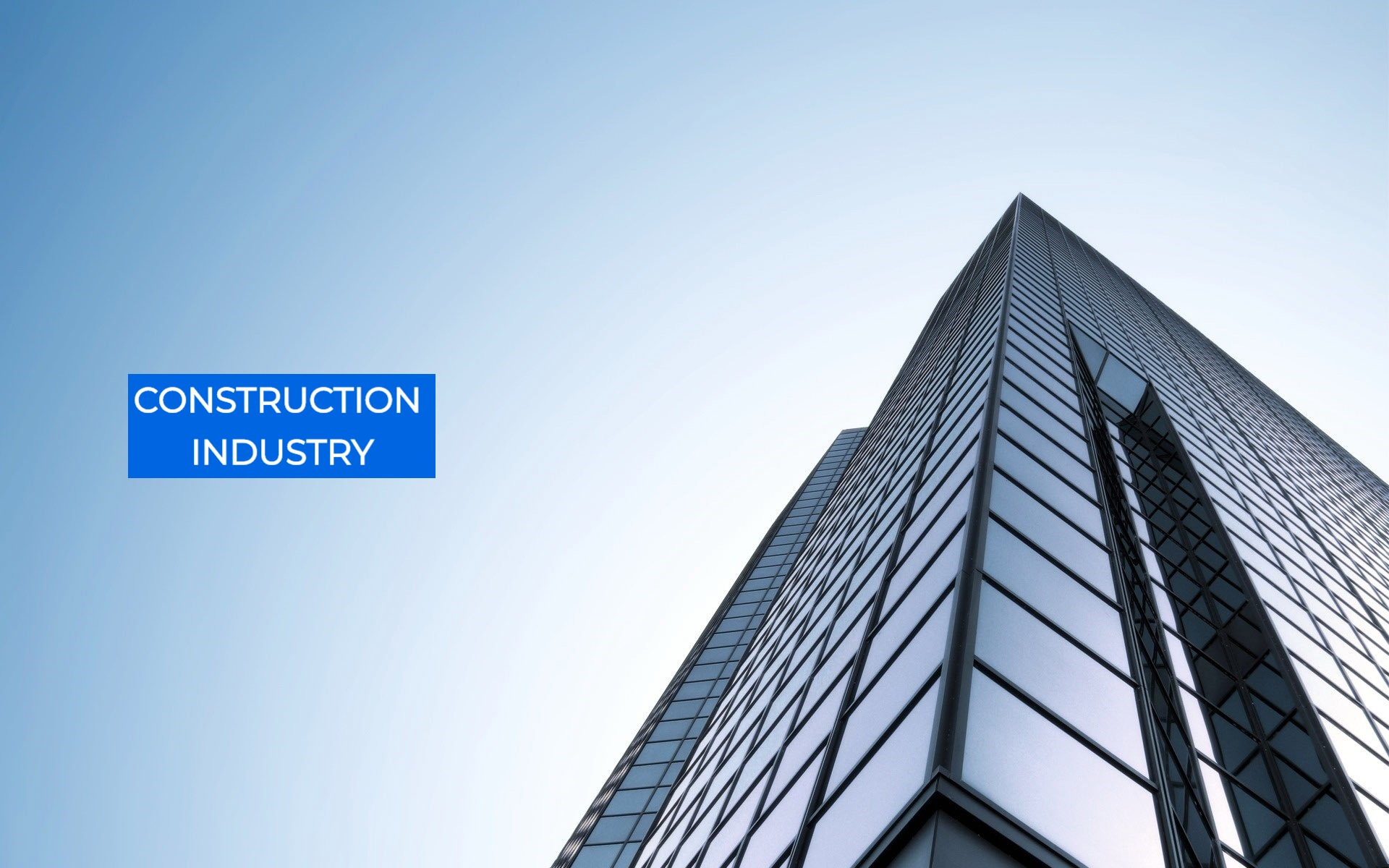 Construction Industry - Civil, Architectural, Building, Interior - High rise building at constructio